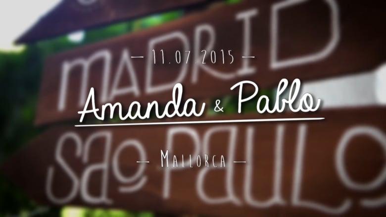 Trailer Amanda y Pablo