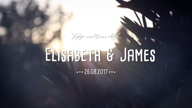 Wedding Elisabeth & James
