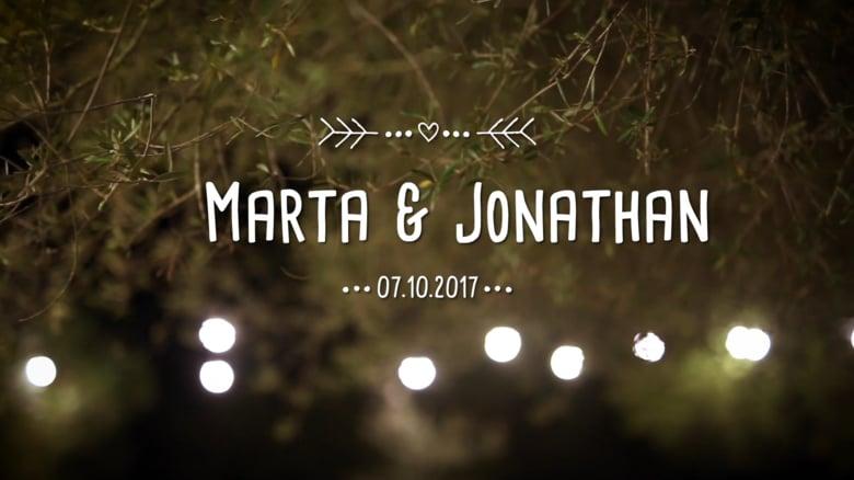 Trailer Marta & Jonathan