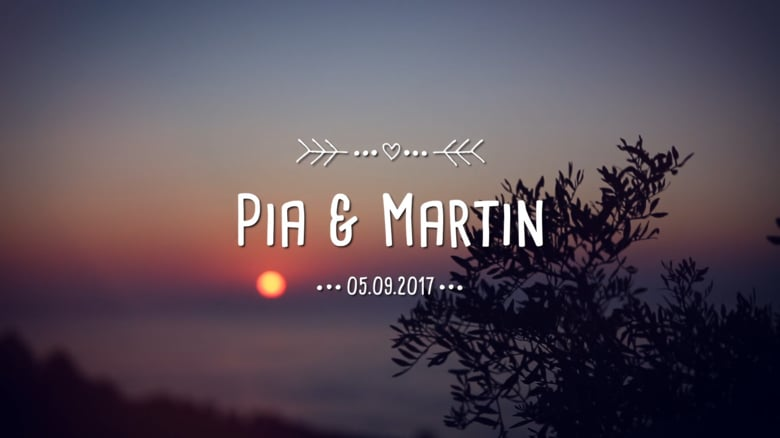 Wedding Pia & Martin
